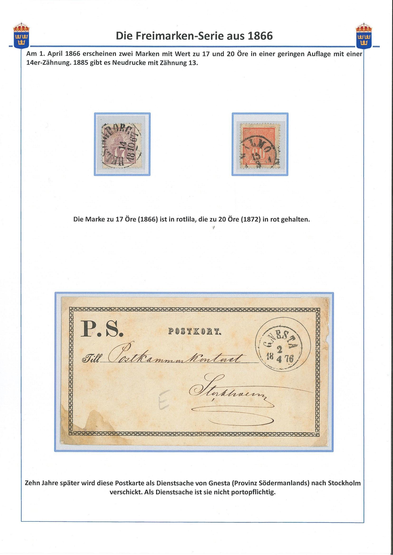 Schweden 1866
