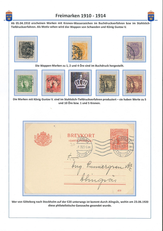Freimarken 1910-1914