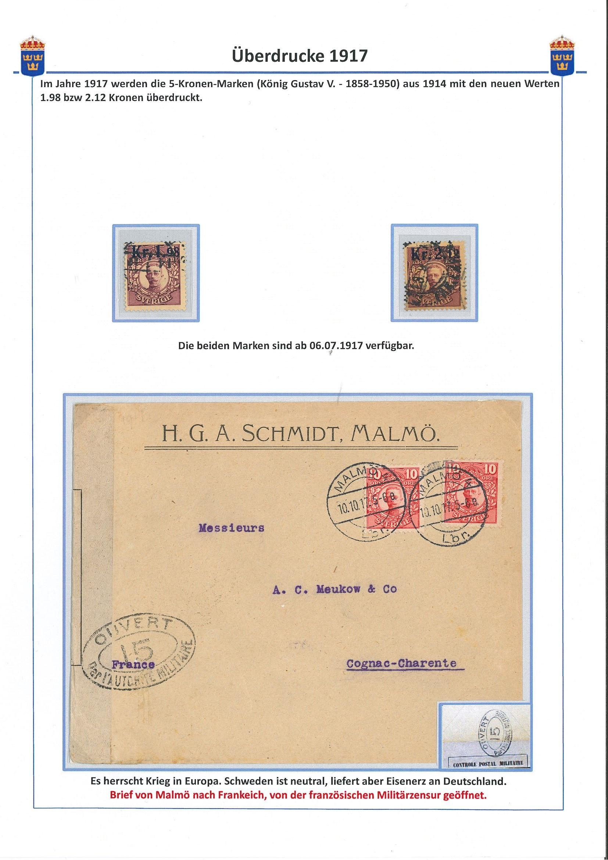 Überdrucke 1917