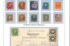 Freimarken 1891