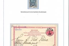 Erste Sondermarke 1903