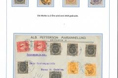 Freimarken 1911 - 1919