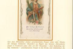 Das Fest der Heiligen Katharina