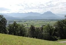 Blick vom Klauserberg ins Rheintal