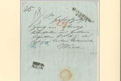 Österreichische Postgeschichte 1843-1851