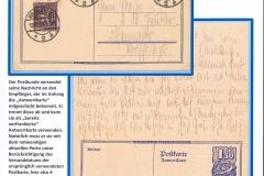 Fünfte Tarifperiode (2) mit Antwortkarte