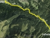 Silbertal Ortsende bis Fellimännle aus Google-Earth