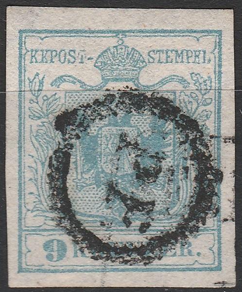 Stummer Stempel: Triest (Werner Rath)
