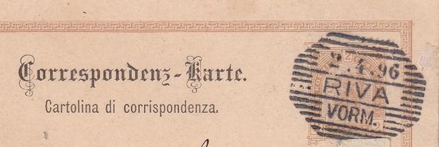 Rost-Achteck-Stempel 3zeilig
