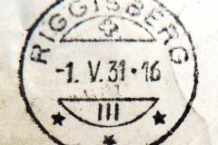 Kreissegmentstempel mit Teilgitter unten