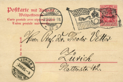 Flaggenstempel Deutsches Reich