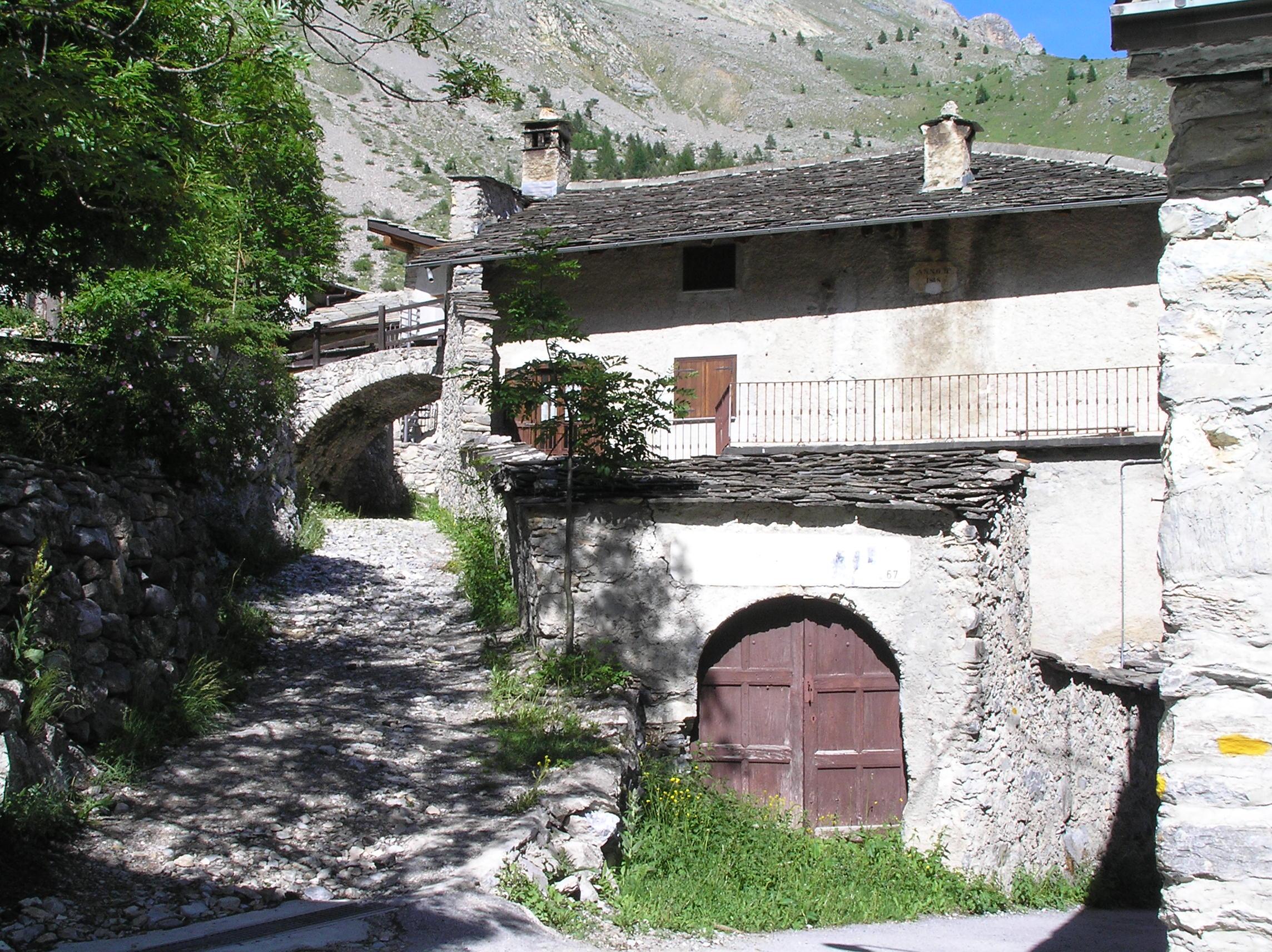 Architektur in den Bergen