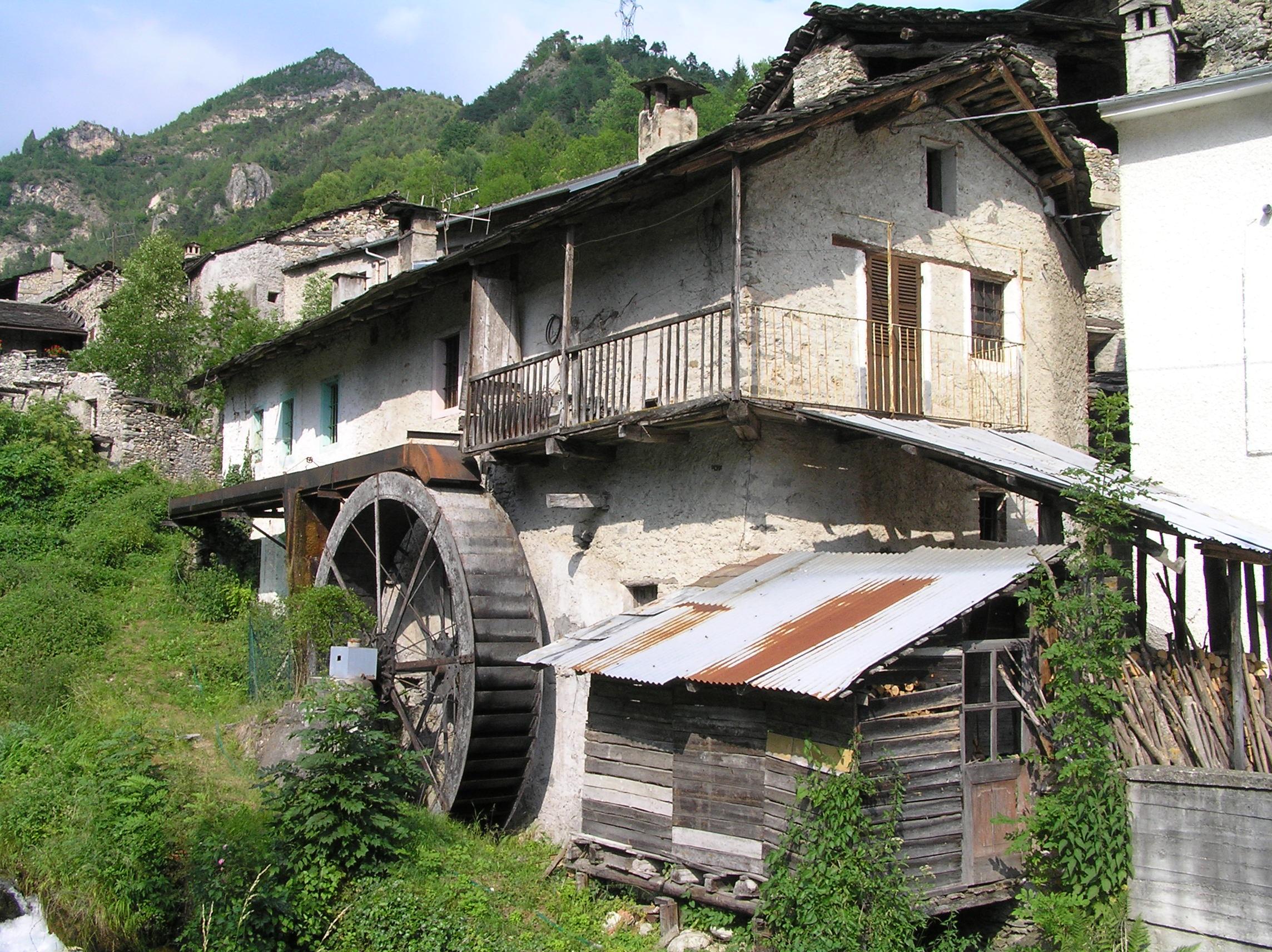 Architektur in den Südalpen