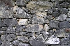 Steinmaueren für Eidechsen